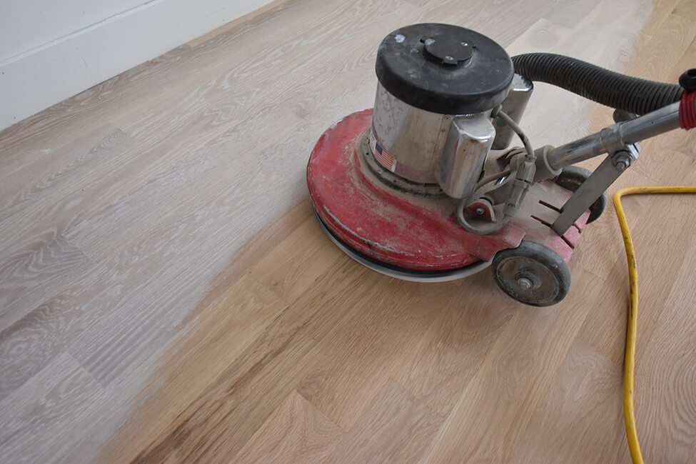 Wood Floor Refinishing in Denver