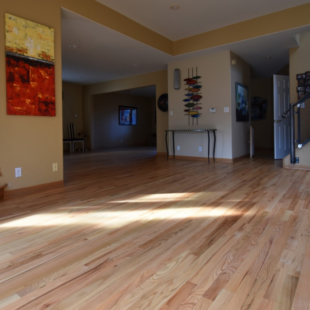 Natural Stain on Red Oak
