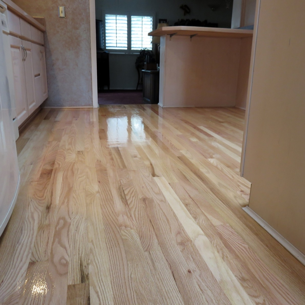 Red Oak Floors with Amber Seal