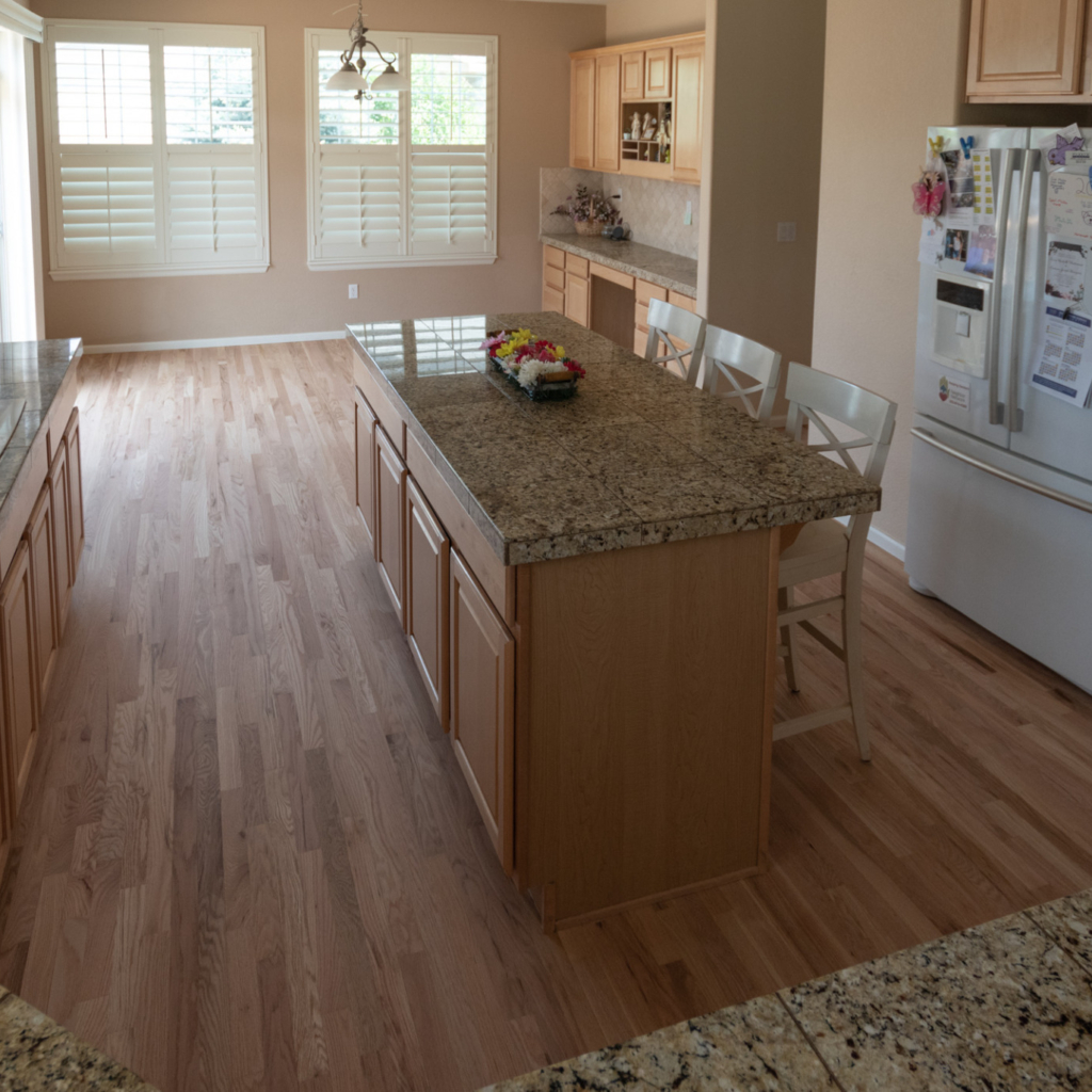 Loba Invisible on Red Oak Flooring
