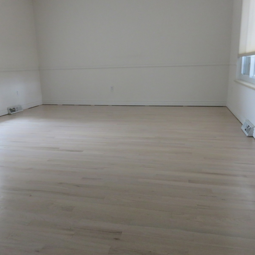Floors to be refinished