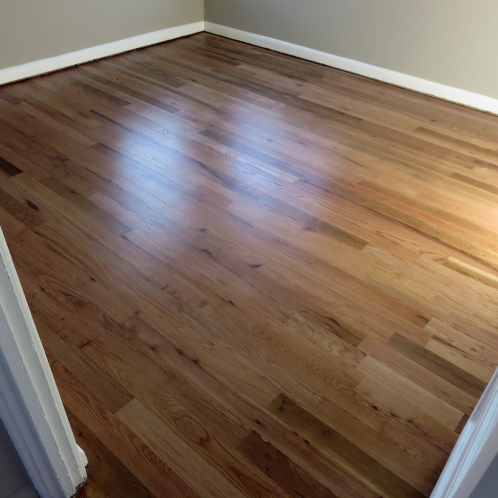 Red & White Oaks Stained Natural